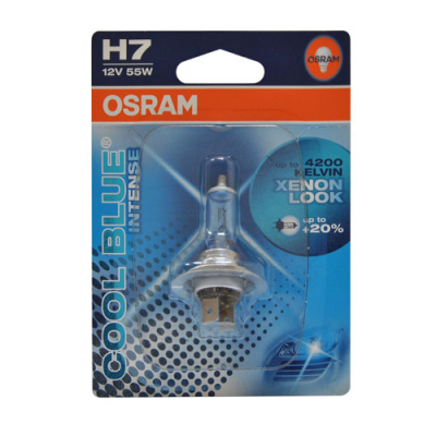 Лампа фары H7 Osram Cool Blue Intense