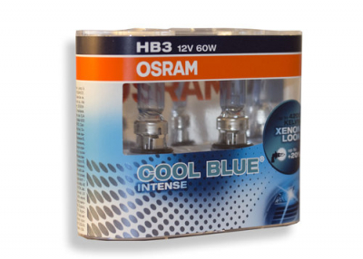 Лампа фары HB3 Osram Cool Blue Intense (комплект 2 шт)